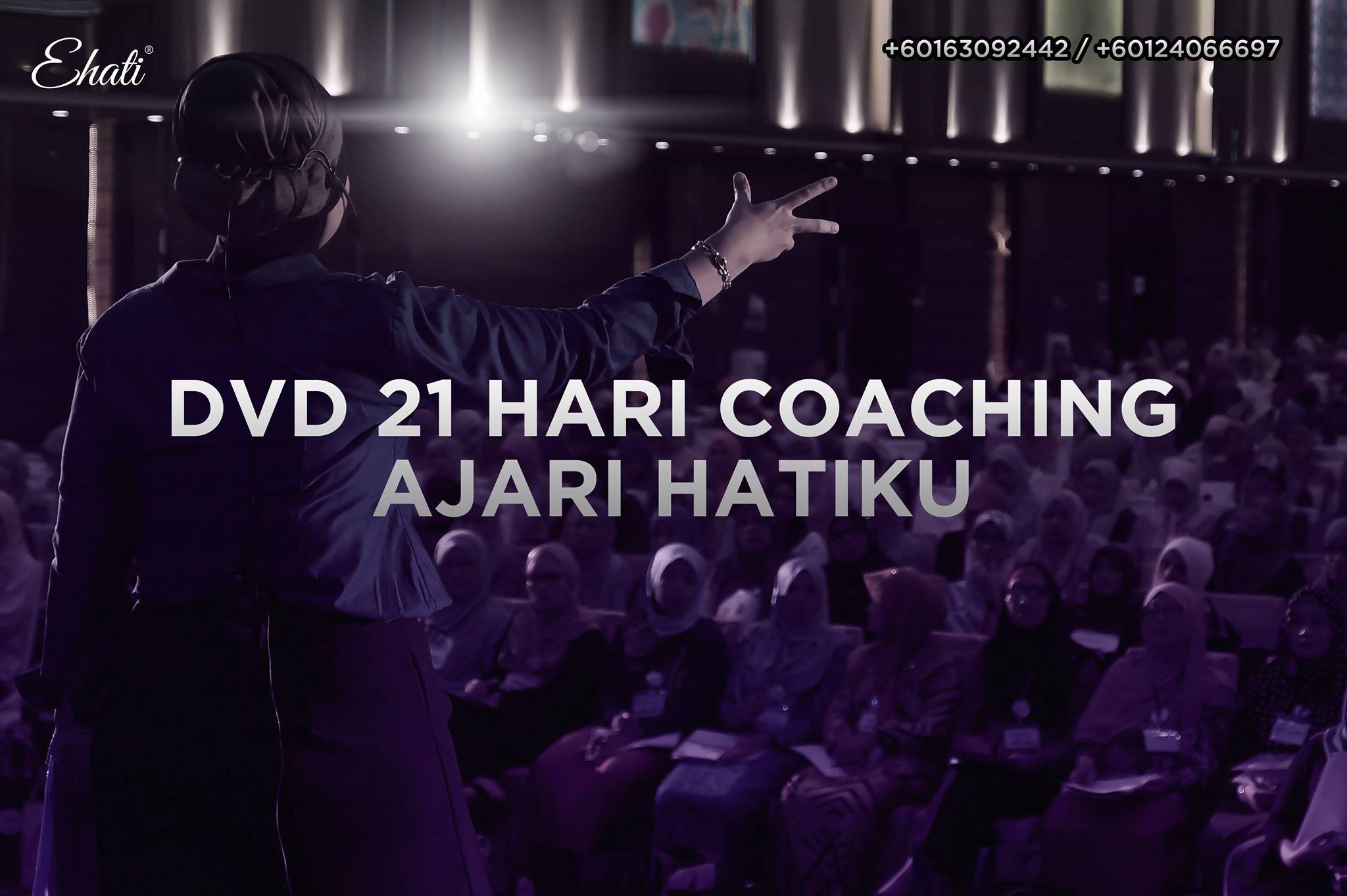 Motivasi Diri Dengan Dvd 21 Hari Coaching Ajari Hatiku